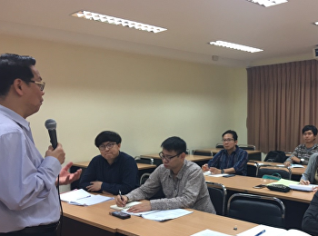 Assistant Professor Dr. Somdech Rungsrisawat Gave a Lecture in the Advanced Research Methodology for Communication Course